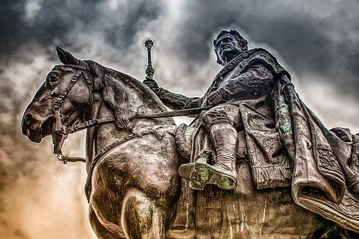 Imagen Fija, Escultura, Estatua Ecuestre