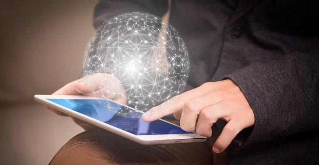 Internet, Cyber, Network, Finger
