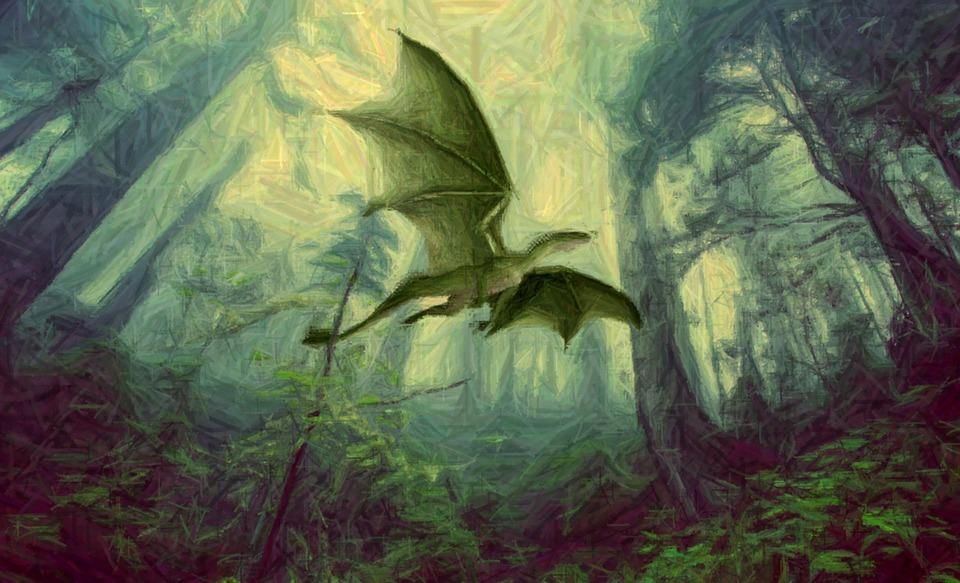 Pintura El Marco Dragón · Imagen gratis en Pixabay