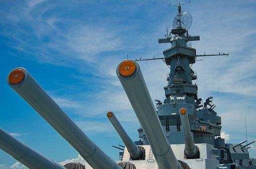 Uss Alabama, Warship, Navy, America