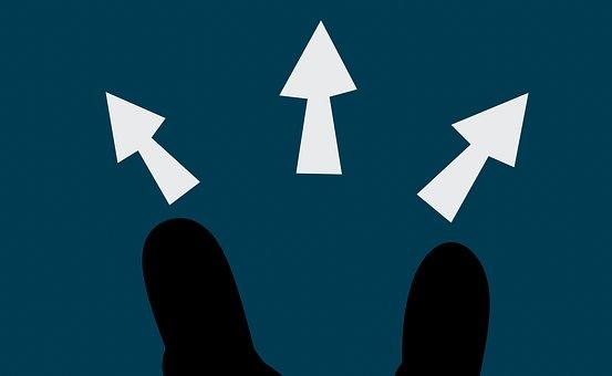 意思決定, 方向, キャリア, 選択, オプション, 選択肢, ガイダンス