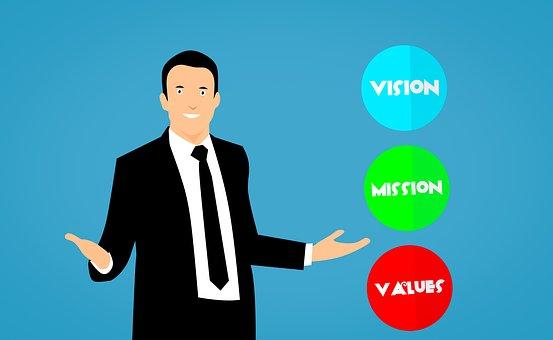 特派团, 视觉, 值, 业务, 教练, 代码, 协作, 同事, 通讯, 公司