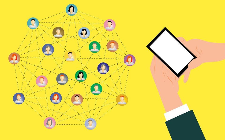 Network, Digital Marketing, Share, Mobile, Social Media