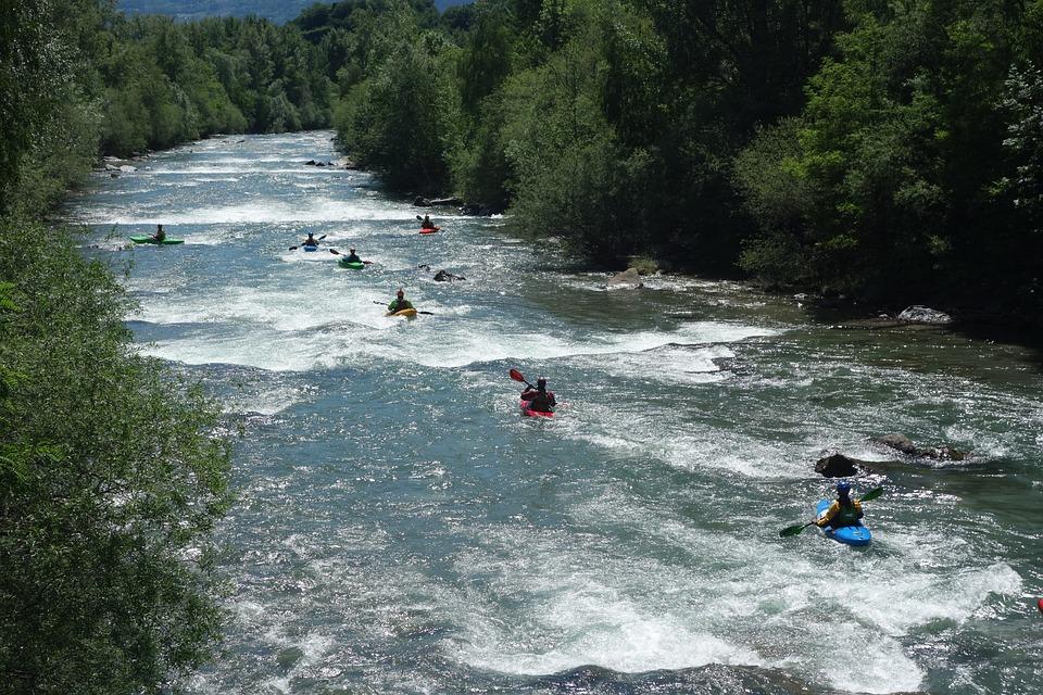 Vodné Športy, Kanoistika, Rafting