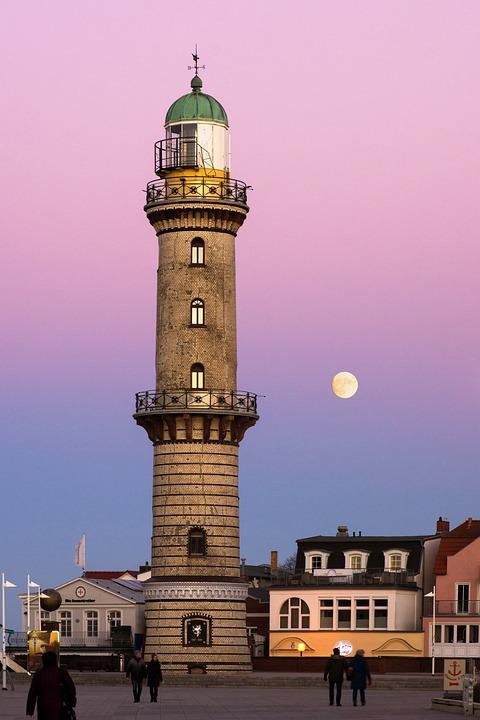 Leuchtturm, Warnemünde, Ostsee