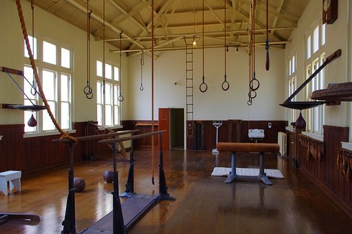 Old Gym In Hot Springs, Fordyce