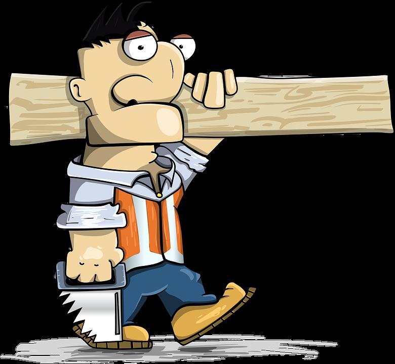 Carpenter, Work, Tool, Board, Saw, Go, Wood, Build
