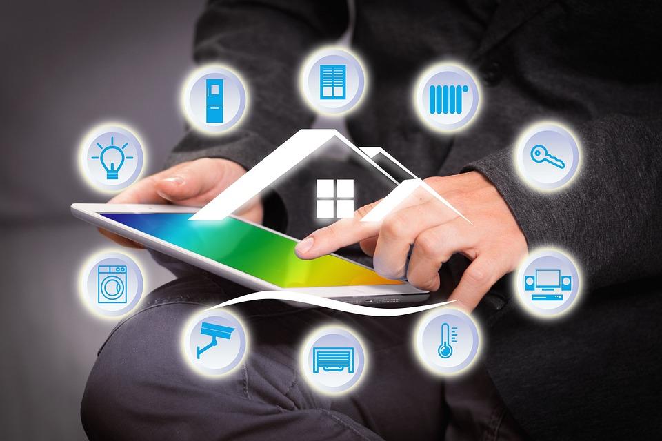 Ovládání inteligentní domácnosti pomocí tabletu