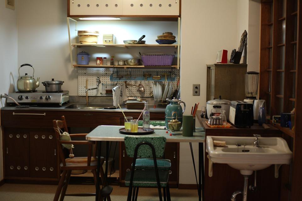 Kitchen, Fifties, Sixties, Seventies, Style, Retro