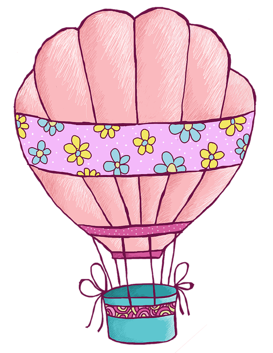 Hot Air Balloon Clip Art Design Free Image On Pixabay