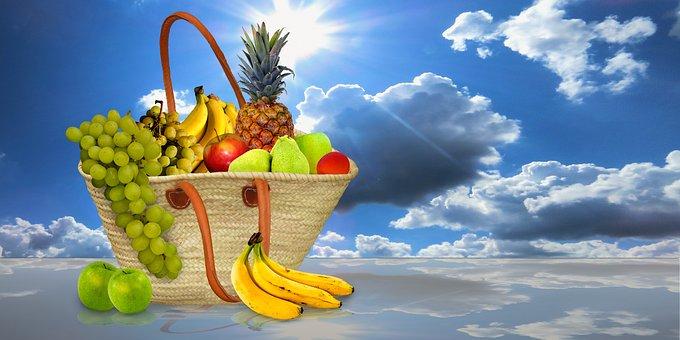 Eat, Food, Fruit, Fruit Basket