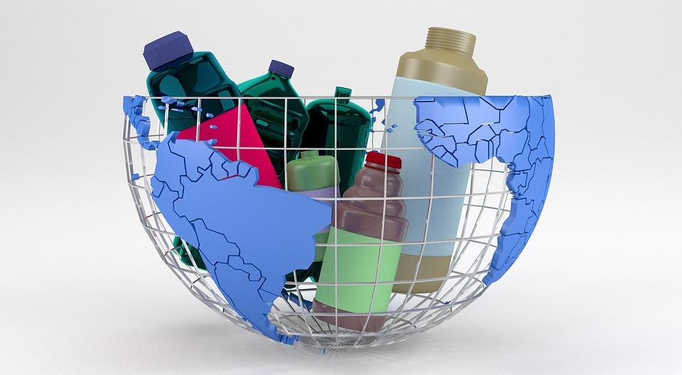 Z Tworzyw Sztucznych, Odpadów, Recykling, Śmieci