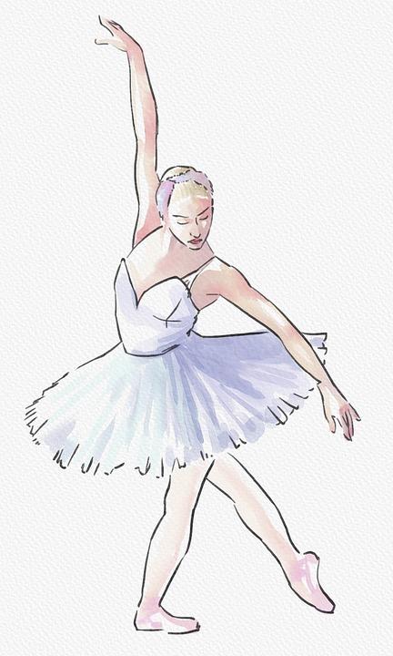 Balerin Dansçı Kadın Pixabayde ücretsiz Resim