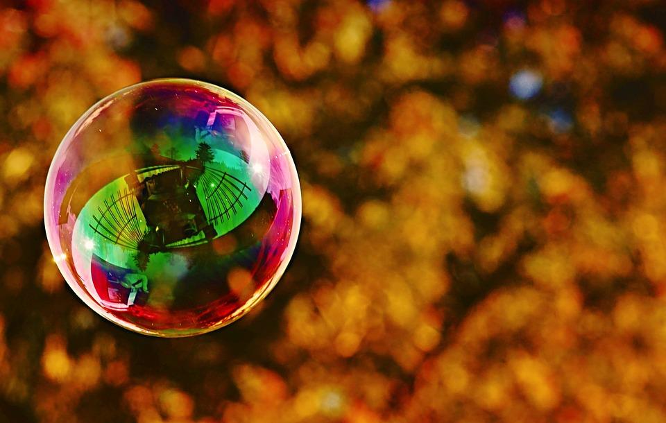 シャボン玉, 大規模な, 石鹸の泡を作る, 玉虫色, 石鹸水, 楽しい, 飛行, カラフル
