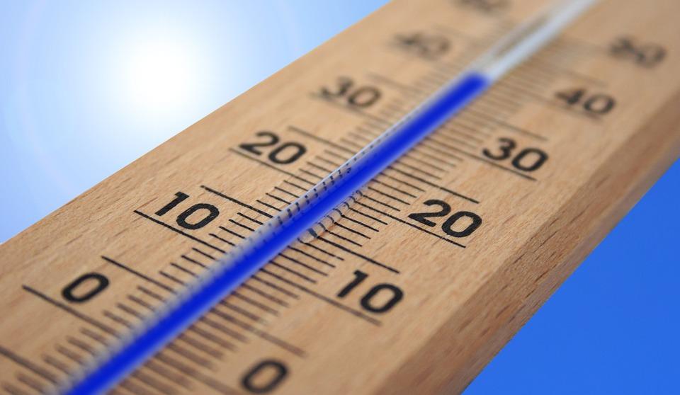 Termometre, Yaz, Heiss, Isı, Sun, Sıcaklık, Enerji