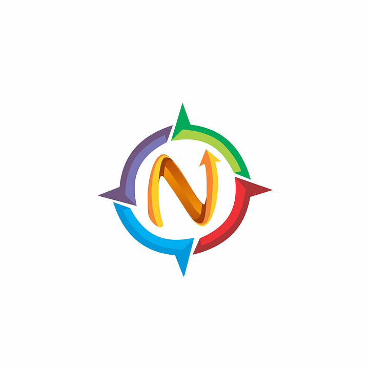 N Letter Compass Free Vector Graphic On Pixabay