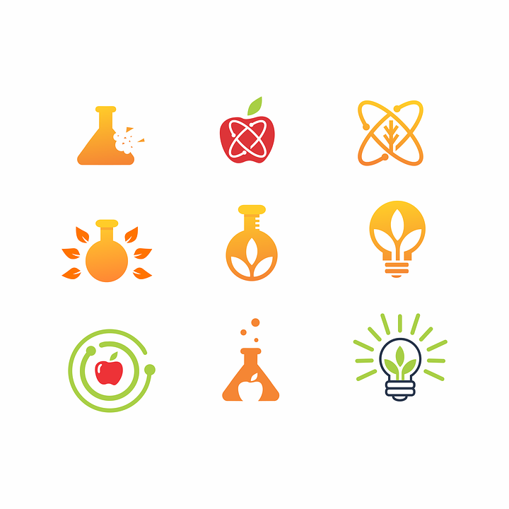 Snack, Food, Lab, Icon, Logo, Pack, Laboratory, Idea