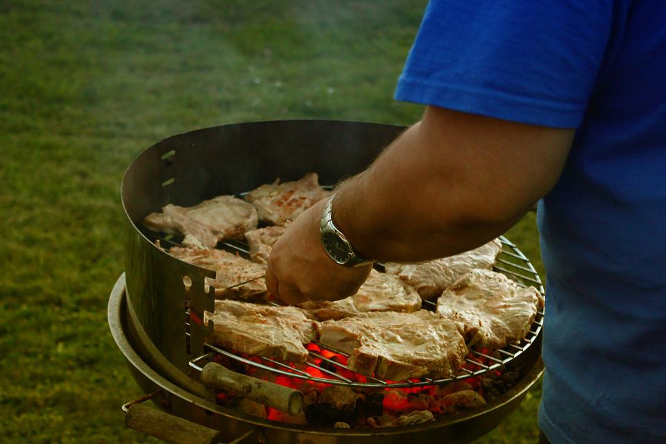 grill meat barbecue