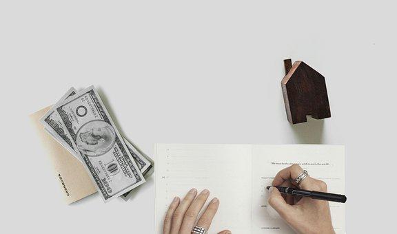Hipoteca, Casa, Dinheiro, Orçamento