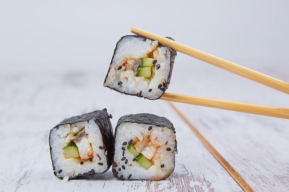 Питание, Суши, Морепродукты, Япония, Восточный