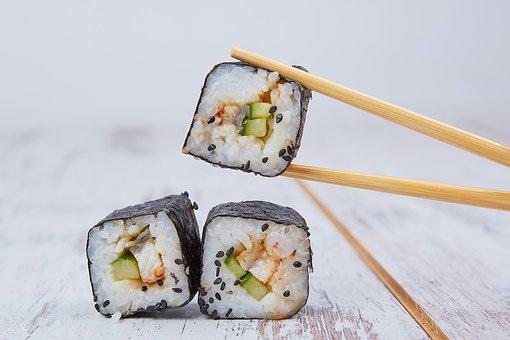 Food, Sushi, Seafood, Japan, Oriental