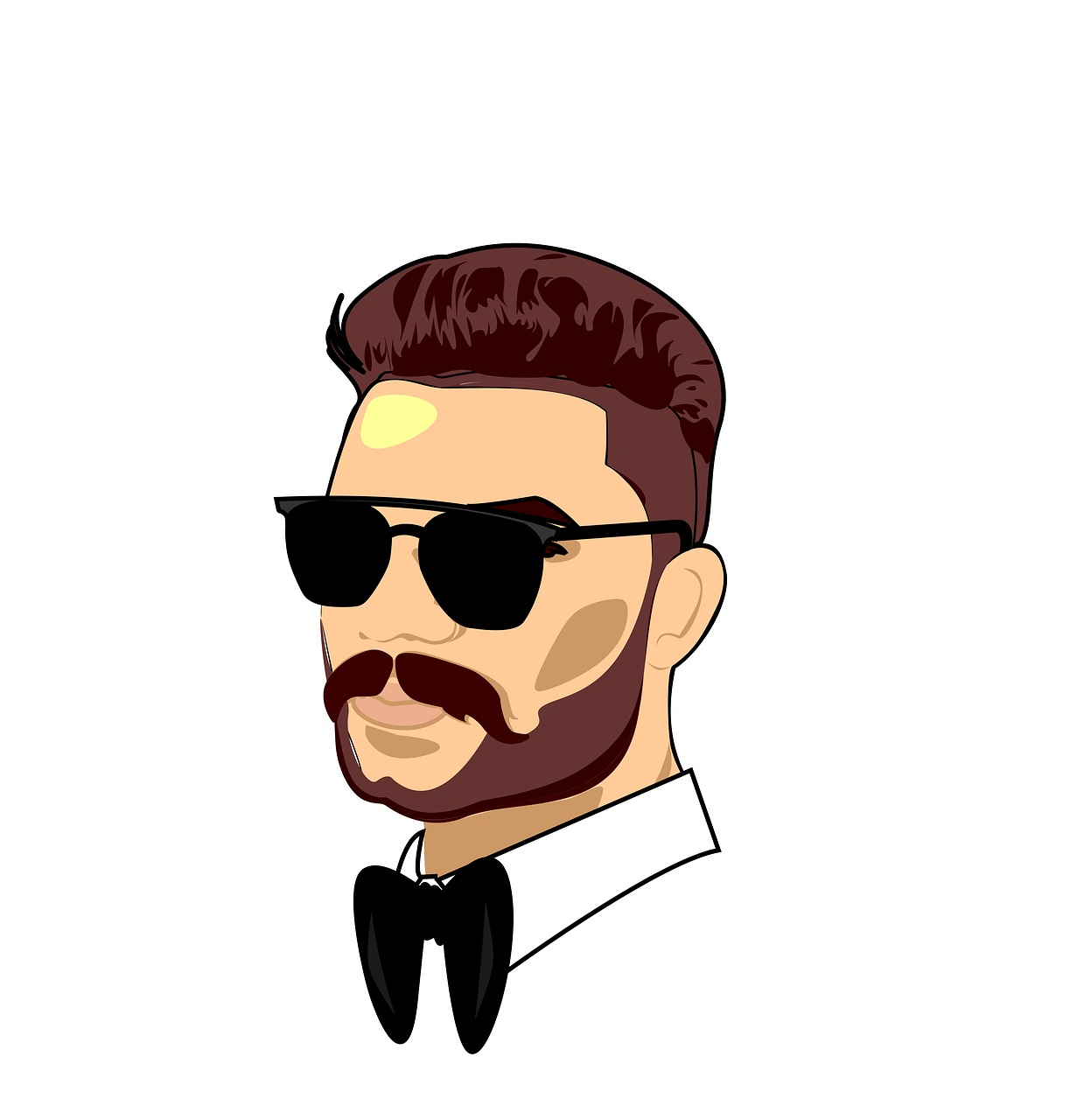 Man Cartoon Gentleman Free Image On Pixabay Almost files can be used for commercial. https creativecommons org licenses publicdomain