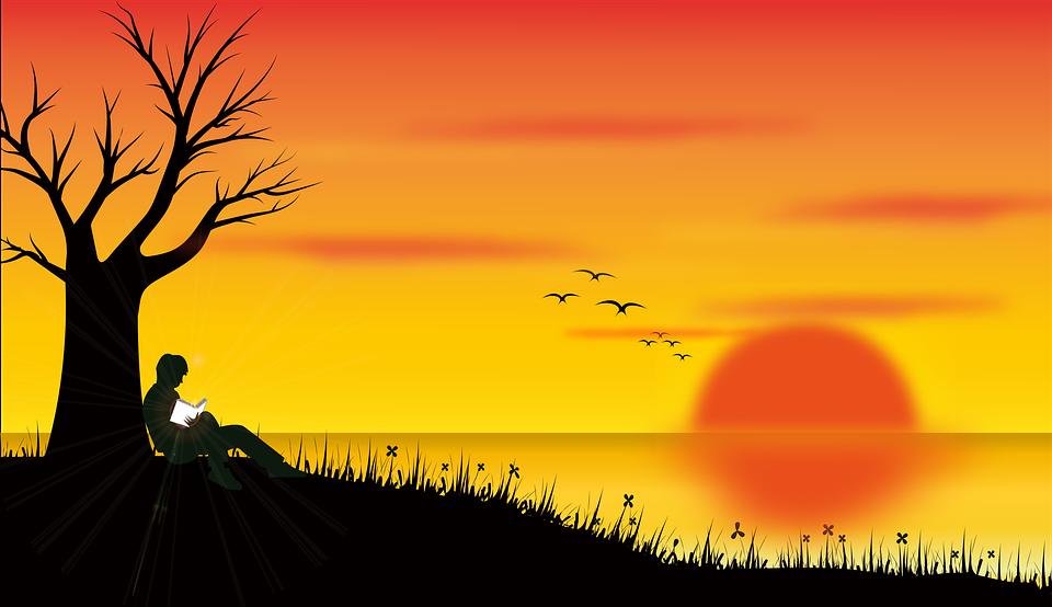 tekenen natuur landschap gratis - gratis afbeelding op pixabay