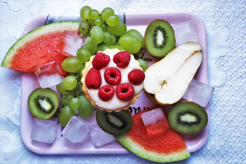 Frutta, Bio, Kiwi, Anguria, Lamponi