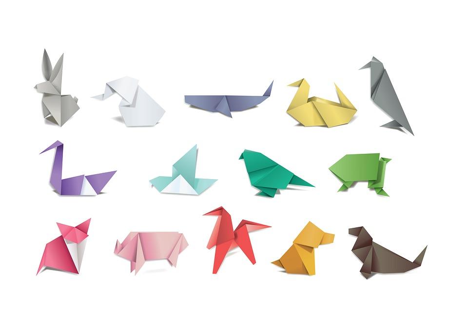 Berühmt Origami Papier Falten - Kostenloses Bild auf Pixabay OC27