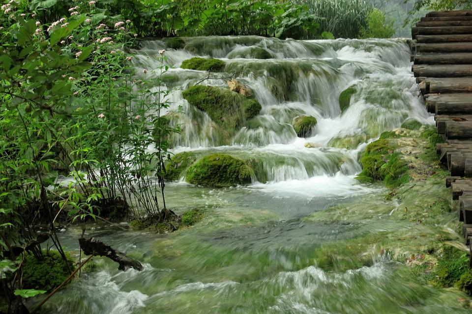 National Park, Waterfall, Plitvice Lakes, Croatia