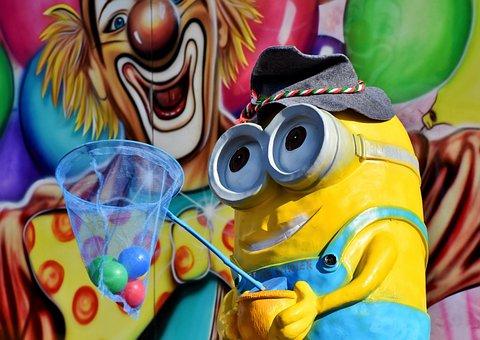 奴才, 动画, 数字, 黄色, 电影, 慕尼黑啤酒节, 年市场, 装饰