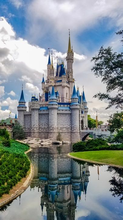 ディズニー, 城, 旅行, アーキテクチャ, ファンタジー, 空, ランドマーク, 建物, 夏, 素晴らしい
