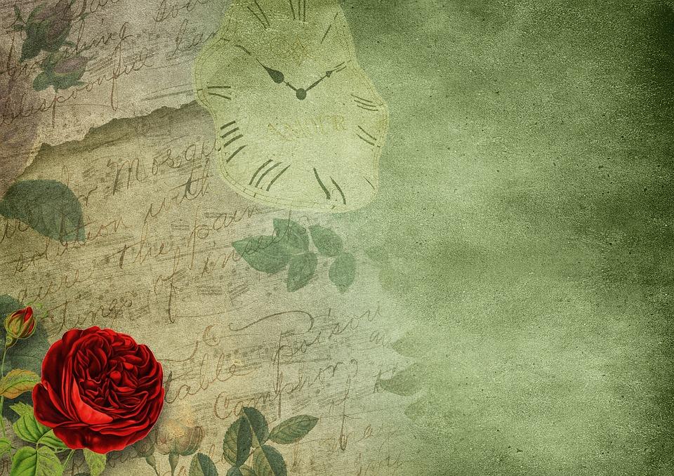 Rose Papier Uhr · Kostenloses Bild auf Pixabay