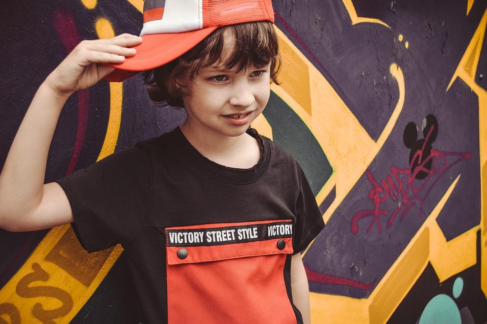 Детска Фотосесия, Децата Реклама На Дрехи, Капачка
