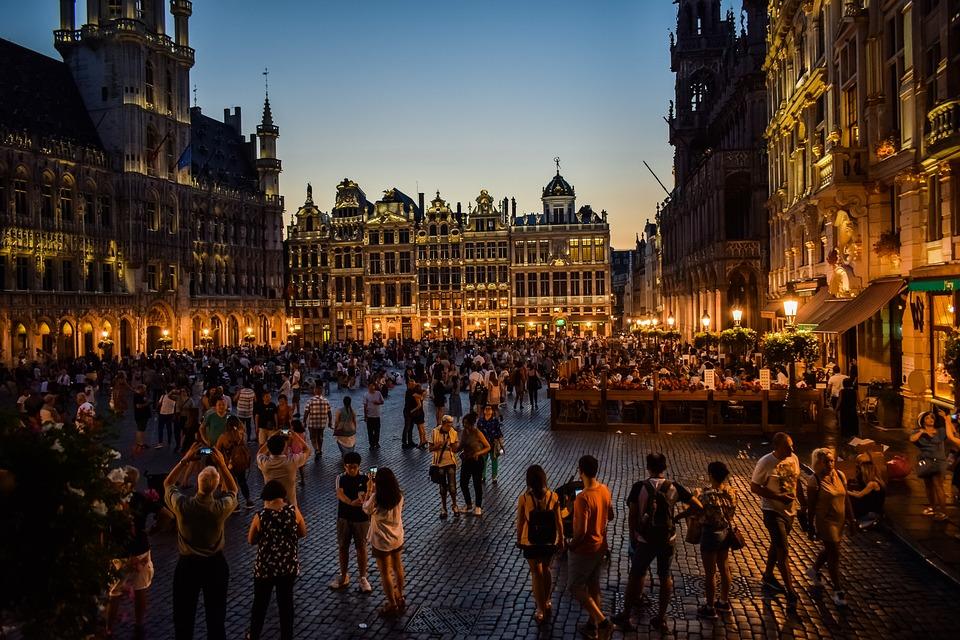 Belgique, Bruxelles, La Grand Place, L'Architecture