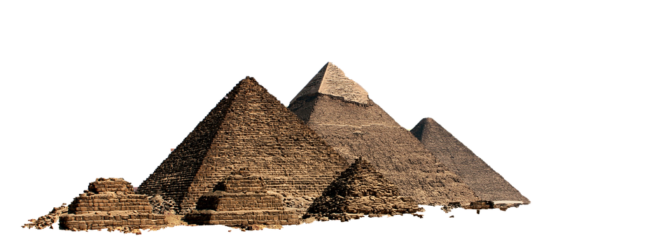 Pyramide, Isolé, Transparent, Egypte, Désert, Pyramides