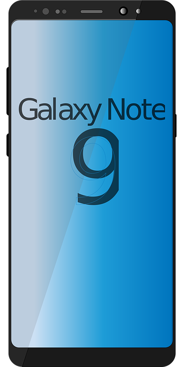 Samsung Galaxy Note 9 Cell Phone - Free vector graphic on
