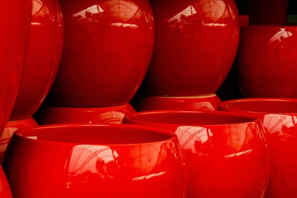 Vase Decoration Red Free Photo On Pixabay