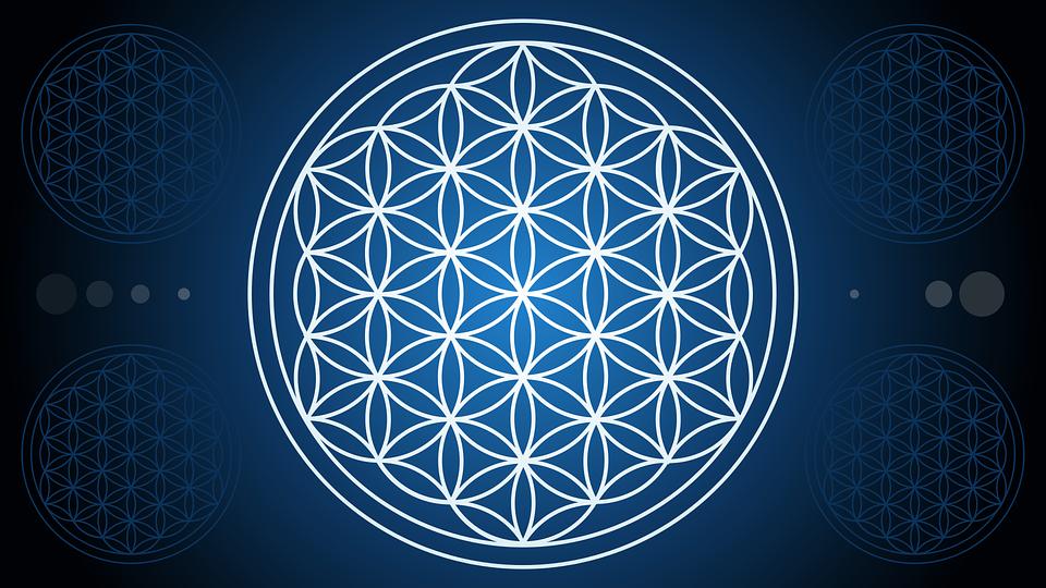 Mandala Flor De La Vida Geometría Gráficos Vectoriales Gratis En