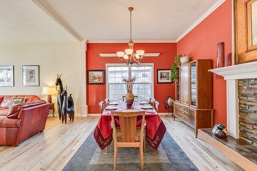 Home, Dekor, Immobilien, Wohnzimmer