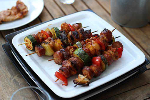 Grill, Shashlik, Meat, Food, Cook, Meal