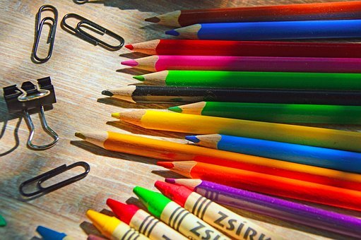 Back-To-School, School, Crayon
