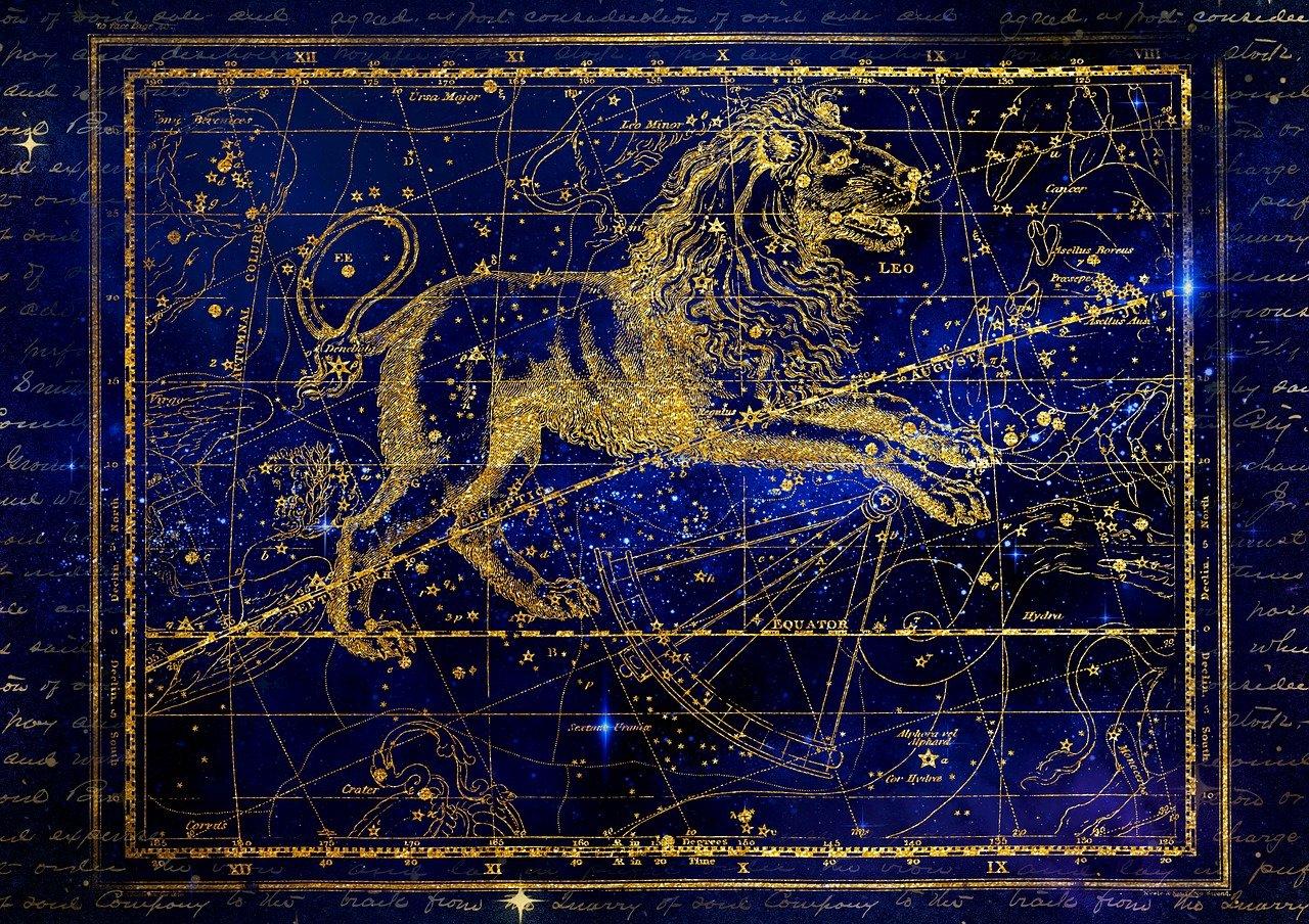 Скачать бесплатно широкоформатные обои и картинки созвездие лев в нужном разрешении для рабочего стола!