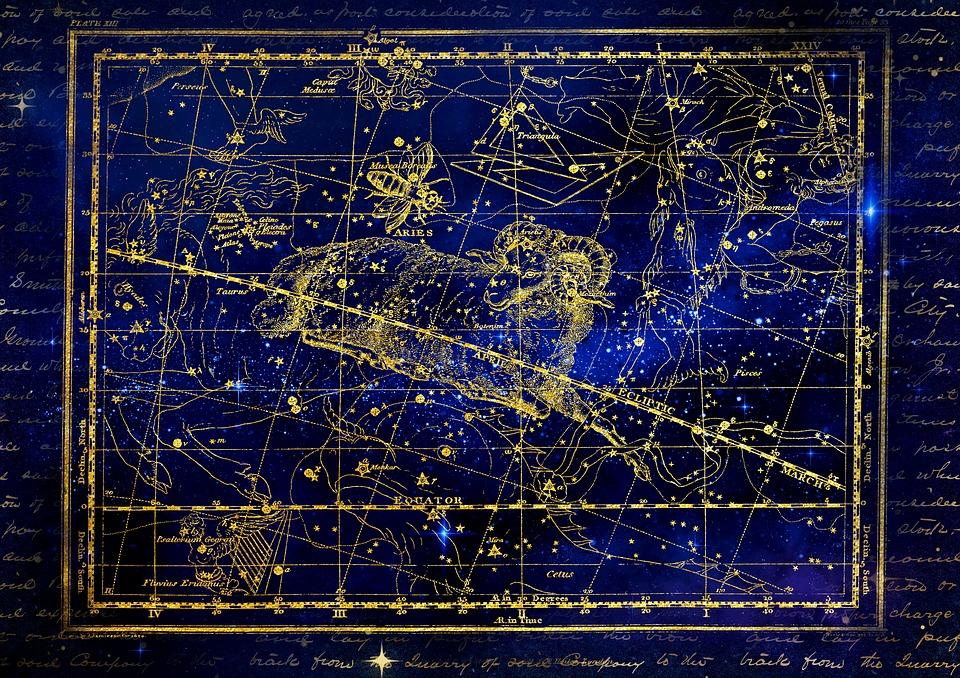 星座, 牡羊座, 空, 満天の星空, Alexanderェイミソン博士をお招きし, 挨拶