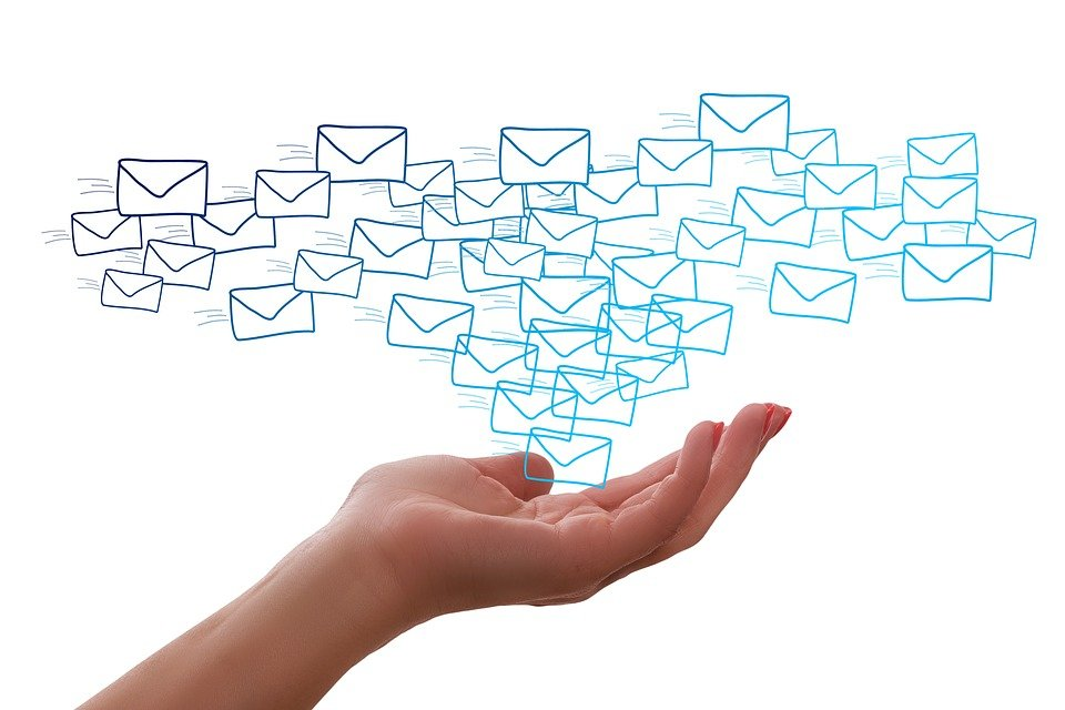 Email, Mail, Contact, Letters, Hand, Write, Glut, Spam