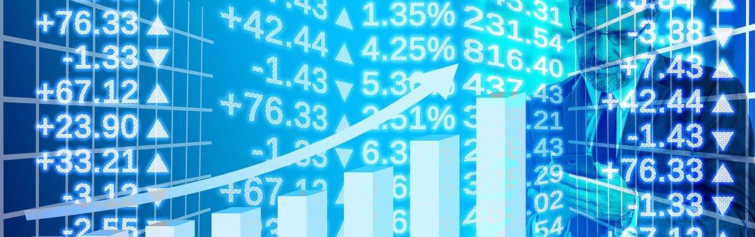 起業家, 開始, 起動します, グラフ, 取引, コース, 外国為替, 分析