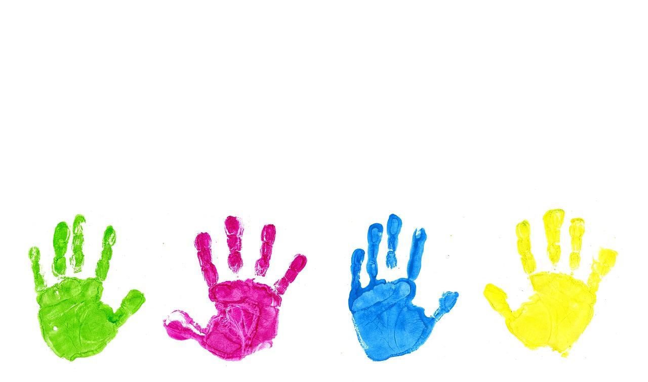 Детская ладошка картинка на прозрачном фоне