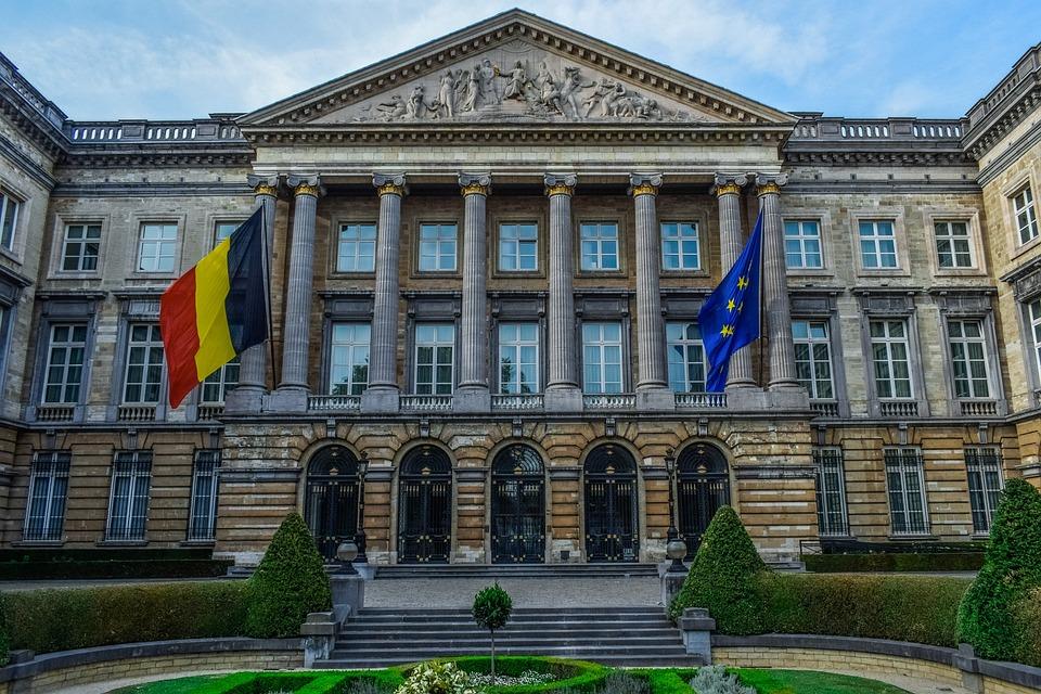 Parlement, L'Architecture, Belge, Bâtiment, Extérieur