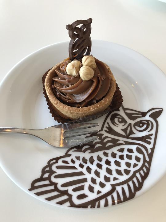 Eule Kuchen Geback Kostenloses Foto Auf Pixabay