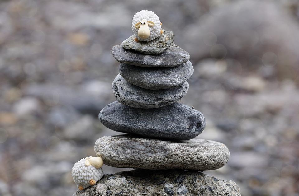 Steine, Balance, Natur, Harmonie, Steinturm, Spirituell